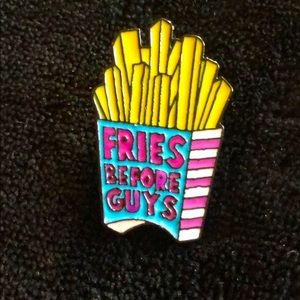 Jewelry - Vintage Vibes Fries 🍟 Before Guys 👨 pin 🧷 📌
